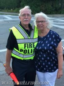 Fire Police Sergeant Bob Perkins and his wife Sharon at Open House. We could not pull off our annual event without the support of our volunteers and their families!
