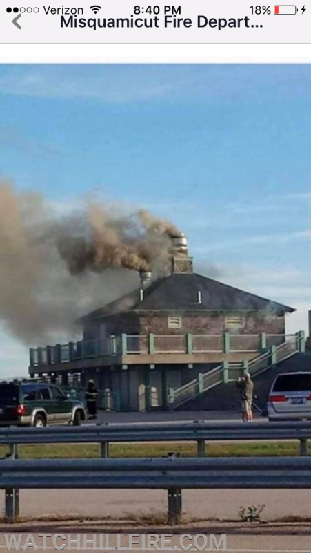 WHFD Provides Mutual Aid Assistance at Misquamicut State