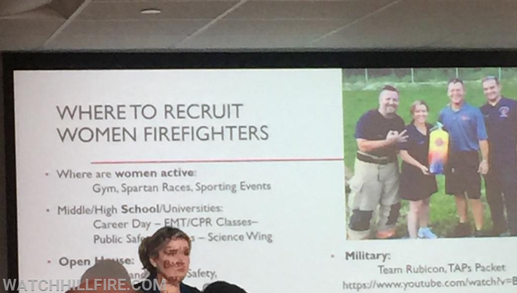 Firefighter/EMT Lisa Evans of West Newbury Fire in Massachusetts shares ideas for recruiting and retaining minorities in the fire service.