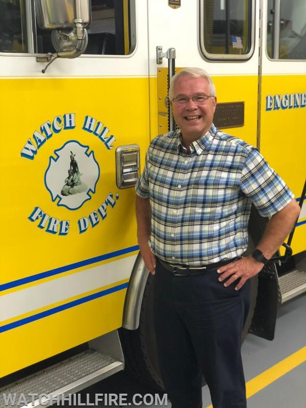Watch Hill Fire Department Chaplain Cal Lord