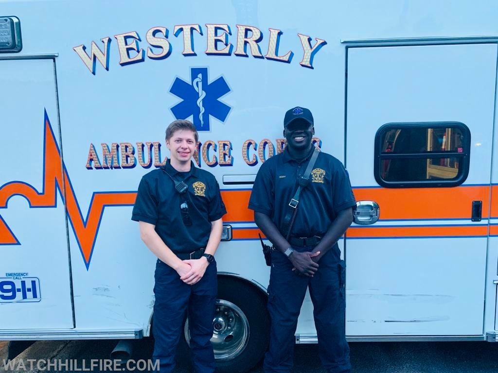 Westerly Ambulance crews provided tours of 751