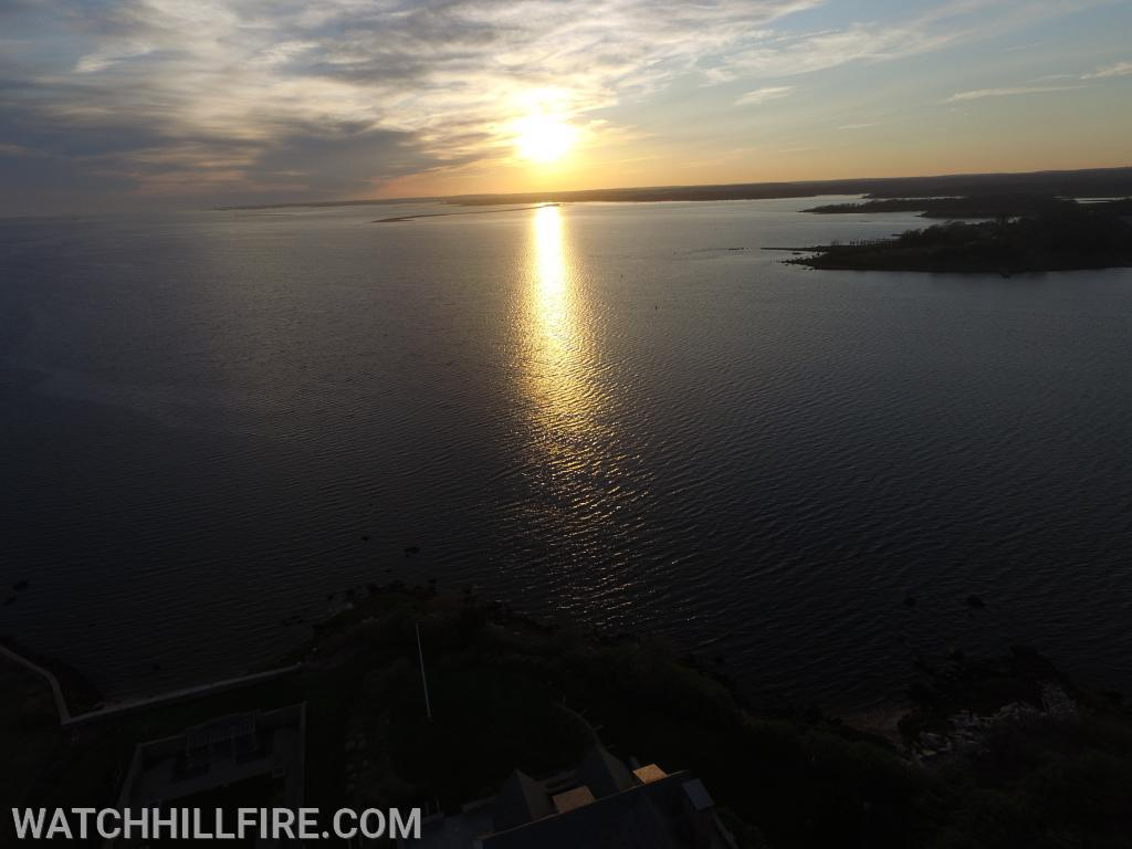Watch Hill - Little Narragansett Bay and Sandy Point Island.