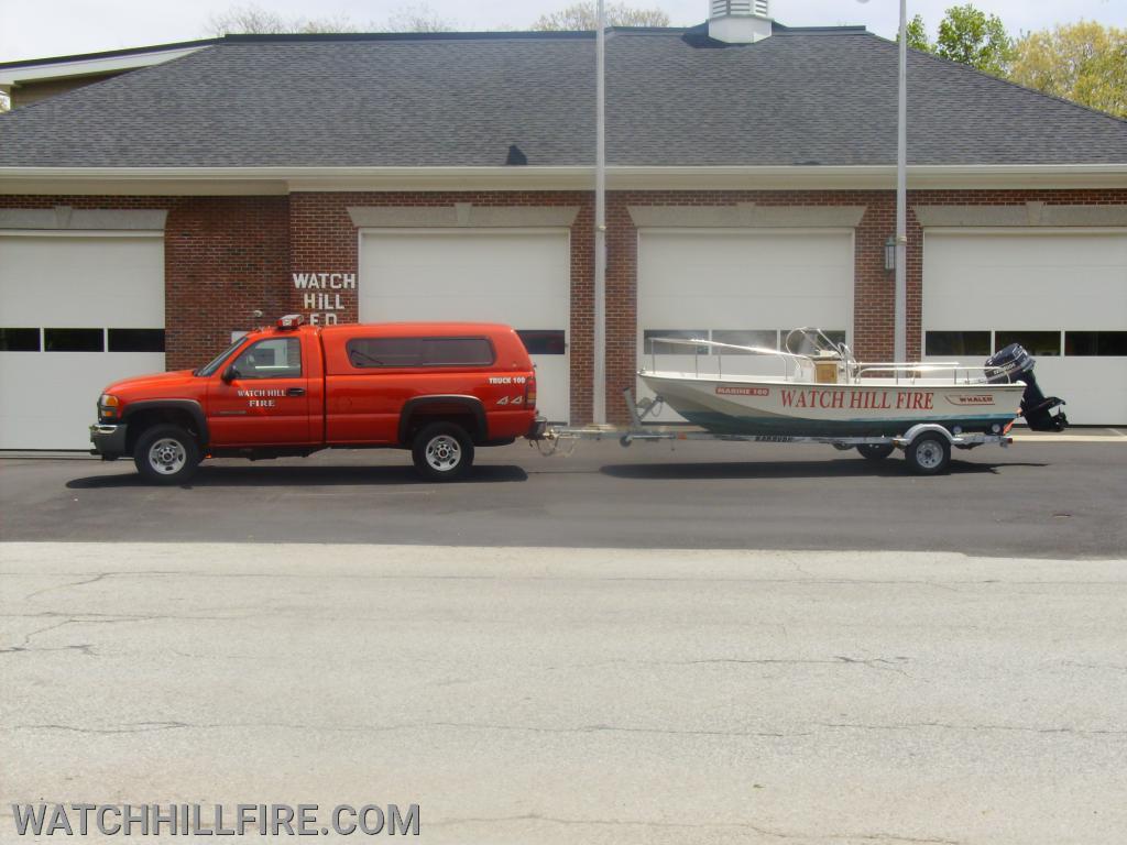 Truck 100 and Marine 100
