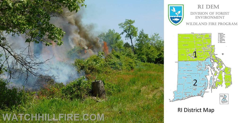 RI Department of Environmental Management website has up to date information about local fire risk. http://www.dem.ri.gov/programs/forestry/fire-program/index.php