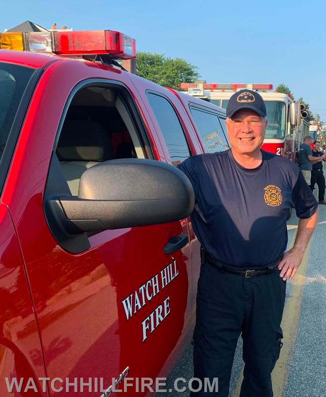 Firefighter Lord with Truck 100
